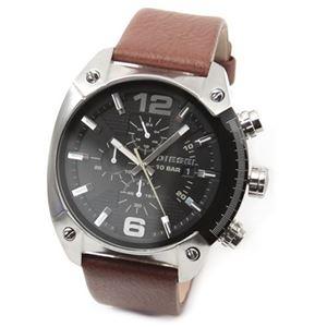 DIESEL(ディーゼル) メンズ 腕時計 人気のデカ系クロノグラフウオッチ DZ4296
