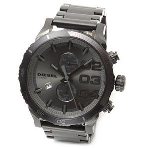 DIESEL(ディーゼル) メンズ 腕時計 人気のデカ系クロノグラフウオッチ DZ4314