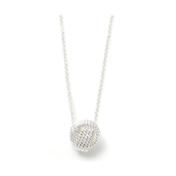 Tiffany(ティファニー) ツイスト ワイヤー ノット ペンダント ネックレス 16in スターリングシルバー 29849498f00