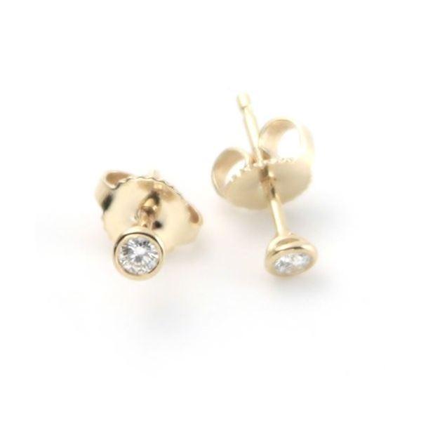 Tiffany(ティファニー) ダイヤモンド バイ ザ ヤード ピアス 0.10ct 18Y 12818653f00