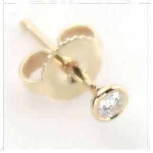 Tiffany(ティファニー) ダイヤモンド バイ ザ ヤード ピアス 0.10ct 18Y 12818653 h02