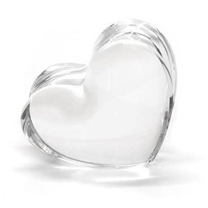 Baccarat(バカラ) ザンザンハート 可愛いくてキュート☆コロンとしたフォルムのクリアクリスタル製ハート オーナメント 2105112 Zinzin Clear Heart Small
