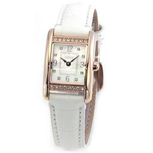 【レディス腕時計】Coach(コーチ) ダイヤルにはシェルの輝きとラインストーン☆ラインストーンをまとったラグジュアリーなレディス・レザーストラップ・ウオッチ 14501899