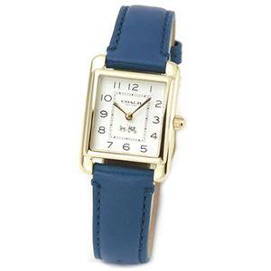 【レディス腕時計】Coach(コーチ) コーチのブランドネームに由来する馬車が刻印された大人カジュアルなレディス腕時計 14502012