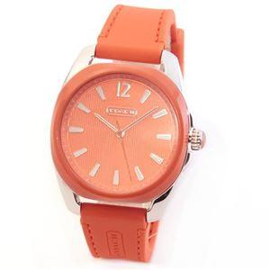 【レディス腕時計】Coach(コーチ) ミドルサイズで見やすい大きさ☆使いまわしやすいラバーストラップ。 14501917