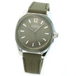 【レディス腕時計】Coach(コーチ) ミドルサイズで見やすい大きさ☆使いまわしやすいラバーストラップ。 14501919