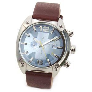 DIESEL(ディーゼル) メンズ 腕時計 人気のデカ系クロノグラフウオッチ DZ4340