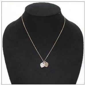 Tiffany(ティファニー) RTT ミニ 2ハート ダイヤモンドペンダント/ネックレス ペンダント 16in 18KRG 28751257 h02