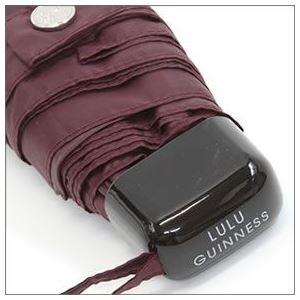 FULTON(フルトン) L717 27059 Tiny-2 Abstract Lips 「Lulu Guinness」ルルギネス コラボモデル フラット 長方形 コンパクト 折りたたみ傘 アンブレラ h03