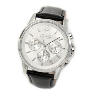 【レディス腕時計】Coach(コーチ) シグネチャーインデックスのドレッシーなクロノグラフウォッチ、ボーイズサイズなので女子にもお薦め 14501512