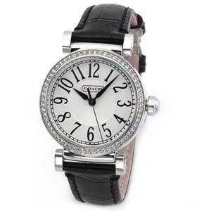 【レディス腕時計】Coach(コーチ) ラインストーンベゼルの輝き 大人カジュアルで上品なキレカワ・レディス腕時計 14501913