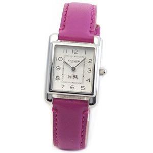 【レディス腕時計】Coach(コーチ) 柔らかな印象のフォルム 上品な大人カジュアル・レディス腕時計 14502020