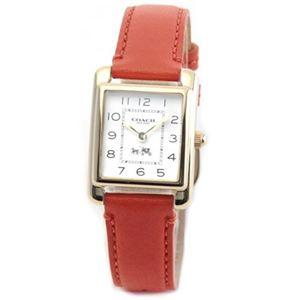【レディス腕時計】Coach(コーチ) 柔らかな印象のフォルム 上品な大人カジュアル・レディス腕時計 14502090