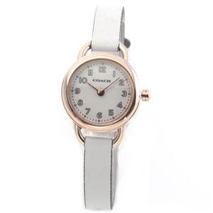 【レディス腕時計】Coach(コーチ) 柔らかな印象のフォルム 小ぶりでキュートな大人カジュアル・レディス腕時計 14502117