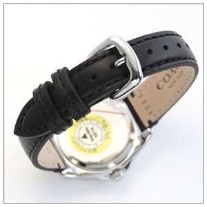 Coach(コーチ) 煌びやかなラインストーンとホワイトシェルダイヤルの輝き ラグジュアリーなレディス腕時計 14502174 h03