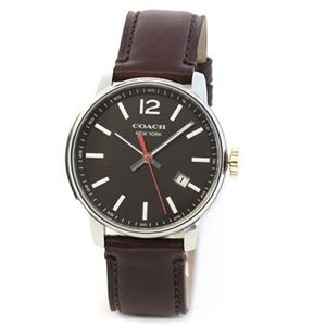 Coach(コーチ) 上品でシンプルなフォルム 大人カジュアルなメンズ腕時計 14601519 - 拡大画像