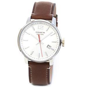 【メンズ腕時計】Coach(コーチ) 上品でシンプルなフォルム 大人カジュアルなメンズ腕時計 14601520