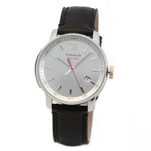 【メンズ腕時計】Coach(コーチ) 上品でシンプルなフォルム 大人カジュアルなメンズ腕時計 14601521