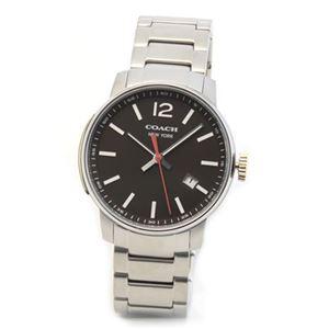 【メンズ腕時計】Coach(コーチ) 上品でシンプルなフォルム 大人カジュアルなメンズ腕時計 14601522
