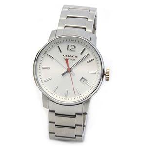 【メンズ腕時計】Coach(コーチ) 上品でシンプルなフォルム 大人カジュアルなメンズ腕時計 14601523