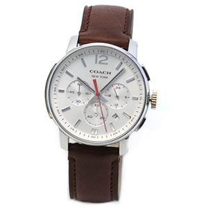 【メンズ腕時計】Coach(コーチ) 上品でシンプルなフォルム 大人カジュアルなメンズ・クロノグラフ腕時計 14601525