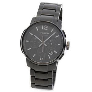 【メンズ腕時計】Coach(コーチ) 上品でシンプルなフォルム 大人カジュアルなメンズ・クロノグラフ腕時計 14601531