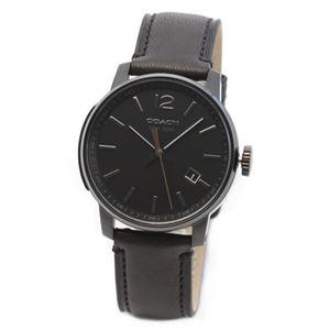 【メンズ腕時計】Coach(コーチ) 上品でシンプルなフォルム 大人カジュアルなメンズ・クロノグラフ腕時計 14601534