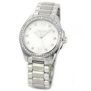 【レディス腕時計】Coach(コーチ) 14501660 煌びやかなラインストーンとホワイトシェルダイヤルの輝き ラグジュアリーなレディス腕時計