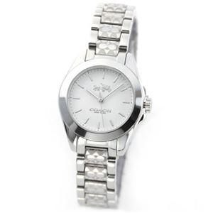 【レディス腕時計】Coach(コーチ) 14502183 上品でシンプルなフォルム 大人カジュアルなレディス腕時計