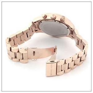 Michael Kors(マイケルコース) 煌びやかなパヴェストーンをまとったラグジュアリーな大きめサイズのレディス腕時計 MK5946 h03