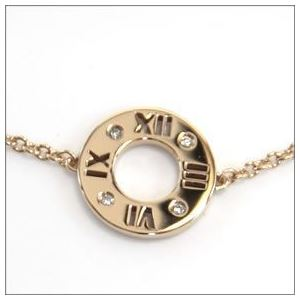Tiffany(ティファニー) アトラス ブレスレット ミディアム ダイヤモンド 6.75in 18R 31225736
