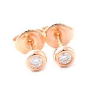 Tiffany(ティファニー) 28274599 エルサ・ペレッティ ダイヤモンド バイ ザ ヤード ピアス 0.14ct 18KRG