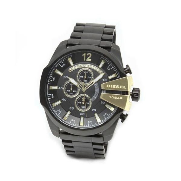 DIESEL(ディーゼル) メンズ 腕時計 人気のデカ系クロノグラフウオッチ 3Time表示 DZ4338f00