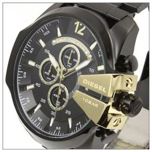 DIESEL(ディーゼル) メンズ 腕時計 人気のデカ系クロノグラフウオッチ 3Time表示 DZ4338 h02