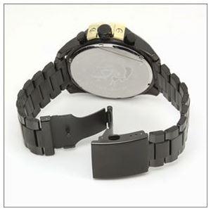 DIESEL(ディーゼル) メンズ 腕時計 人気のデカ系クロノグラフウオッチ 3Time表示 DZ4338 h03
