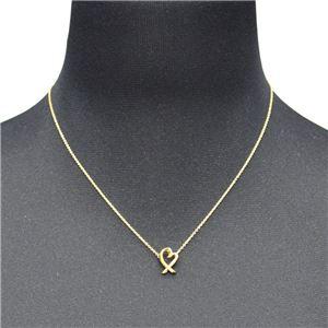 Tiffany(ティファニー) 34595771 パロマ・ピカソ ラビング ハート ペンダント ネックレス ミニ 16in 18KYG h02