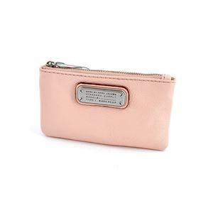 MARC BY MARC JACOBS(マークバイマークジェイコブス) M0005359 175 Pearl Blush New Q Key Pouch キーリング付 コインケース マルチポーチ ≪2016SS≫