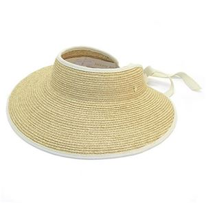 Helen Kaminski(ヘレンカミンスキー) Mita/Natural/Sand ≪2015SS≫ミータ UPF50+ サンバイザー ラフィア製ハット レディス帽子