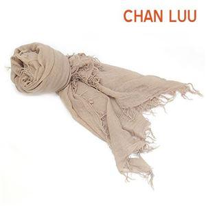 CHAN LUU(チャンルー) カシミア&シルクスカーフ マフラー 大判ストール マフラー アンフォラ ベージュ系 BRH-SC-140/Amphora