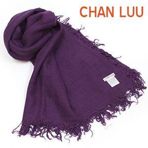CHAN LUU(チャンルー) Cashmere and Silk Scarf カシミア&シルクスカーフ 大判ストール マフラー シャドウパープル BRH-SC-140/Shadow Purple