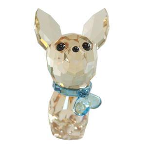 Swarovski(スワロフスキー) 5063330 Puppy - Oscar the Chihuahua キュートな子犬シリーズ チワワ 「オスカー」 クリスタル フィギュア 置物 h01