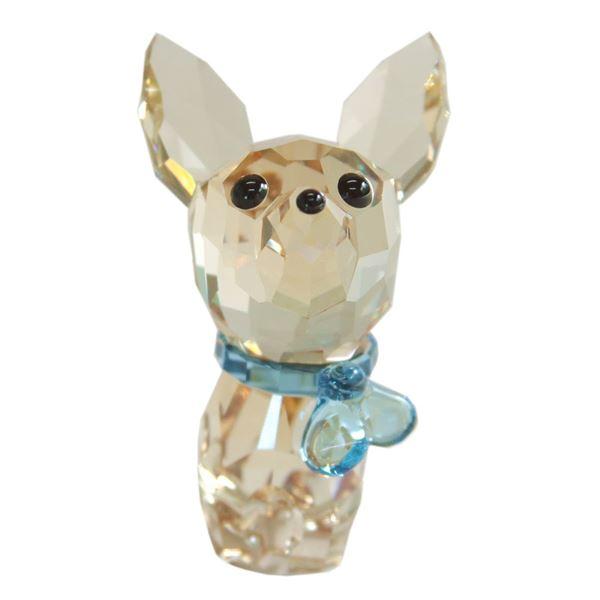 Swarovski(スワロフスキー) 5063330 Puppy - Oscar the Chihuahua キュートな子犬シリーズ チワワ 「オスカー」 クリスタル フィギュア 置物f00