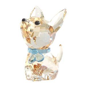 Swarovski(スワロフスキー) 5063330 Puppy - Oscar the Chihuahua キュートな子犬シリーズ チワワ 「オスカー」 クリスタル フィギュア 置物 h02