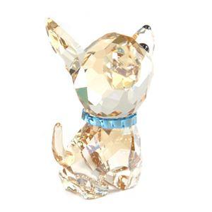 Swarovski(スワロフスキー) 5063330 Puppy - Oscar the Chihuahua キュートな子犬シリーズ チワワ 「オスカー」 クリスタル フィギュア 置物 h03