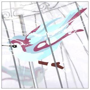 FULTON(フルトン) L719 17036 Birdcage-2 Birdcage Birdcage 「Lulu Guinness」ルルギネス コラボモデル バードケージ ビニール傘 長傘 鳥かごのようなドーム型のフォルムが魅力的なアンブレラ h02
