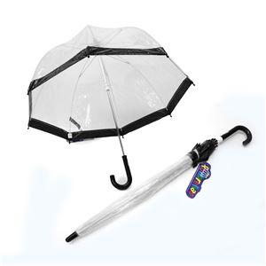 FULTON(フルトン) C603 4517 Funbrella-2 Black 子供用 キッズ用 ビニール傘 長傘 バードケージ ミニ アンブレラ 英国王室御用達ブランド