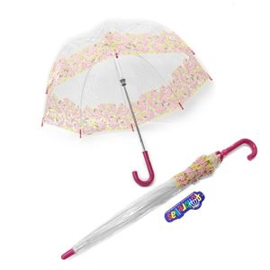 FULTON(フルトン) C605 28315 Funbrella-4 Pretty Petals 子供用 キッズ用 ビニール傘 長傘 バードケージ ミニ アンブレラ 英国王室御用達ブランド