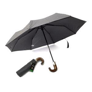 FULTON(フルトン) G818 14936 Chelsea-2 City Stripe Grey 折りたたみ傘 アンブレラ 英国王室御用達ブランド