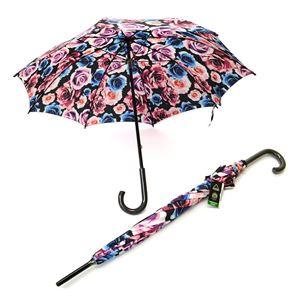 FULTON(フルトン) L056 28179 Kensington-2 Colour Pop Rose ローズプリント 長傘 アンブレラ 英国王室御用達ブランド