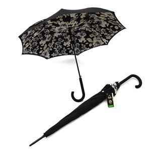 FULTON(フルトン) L754 28148 Bloomsbury-2 Mono Floral 2重構造 長傘 アンブレラ 表と裏で異なるデザインが魅力的♪ 英国王室御用達ブランド